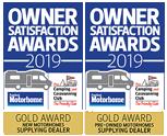 2019 Practical Motorhomes Owner Awards Certificates