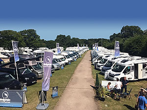 Motorhome display at Shamba 2017